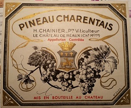 cahier de vente d'Henri Chainier